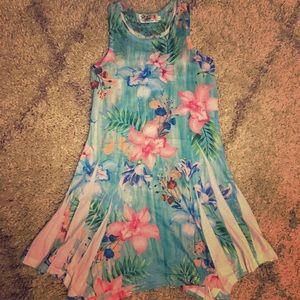 Girl's Hawaiian Dress L (10/12)